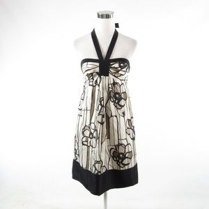 BCBG Max Azria black halter neck sheath dress 2